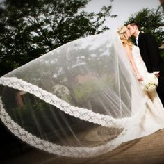 Tips To Choosing A Wedding Dress For Cathedral Veil With Blusher!