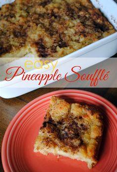 Easy Pineapple Souffle