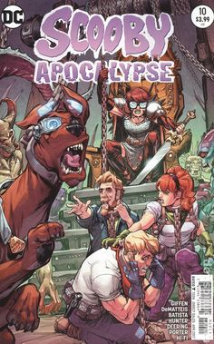 Scooby Apocalypse (2016) 10A