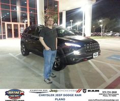 #HappyAnniversary to Shawn Gresham on your 2014 #Jeep #Cherokee from Bill Moss at Huffines Chrysler Jeep Dodge RAM Plano!
