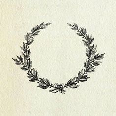 Laurel wreath: traditional symbol of victory, recognition, and reward. Idea stolen from @ Taylor Woodford -------THIS!!!!!