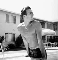 Clint Eastwood At His Hollywood Apartment