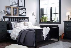Image result for ikea hemnes bedroom set black brown