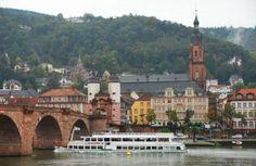Enjoy The Sights of Heidelberg On A Neckar River Cruise