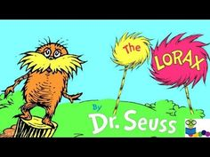 The Lorax by Dr. Seuss - Books for Kids Read Aloud - YouTube