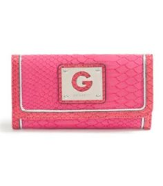 G by GUESS Halona Slim Wallet, PINK MULTI G by GUESS. $24.50 Slim Wallet, Purse Wallet, Guess Purses, Discount Handbags, Continental Wallet, Purses And Bags, Women Accessories, Zip Around Wallet, Pink