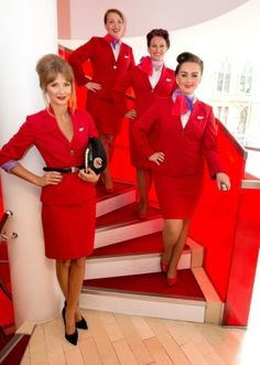 Virgin Atlantic Airways cabin crew #cabincrew #inflight
