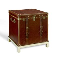 New Safari End Table - Occasional Tables - Furniture - Products - Ralph Lauren Home - RalphLaurenHome.com