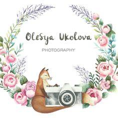 Вот такой логотип для фотографа из холодного и прекрасного Санкт-Петербурга…