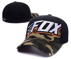 Fox Racing Flex 45 Flexfit Hat Adult Mens Black Baseball Cap Sunvisor T1   fashion   a7e135d286d6