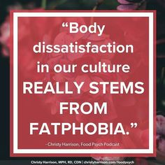 To solve anything and not just mask symptoms you need to get to the ROOT of the problem. Until then you're just putting on pretty Band-Aids and calling it healthy happy and whole. #bravebodylove . . .  from @chr1styharrison -  There is no question that fatphobia impacts people in larger bodies the most. Size discrimination is very very real and it affects a person's ability to get a job access compassionate healthcare be paid a fair wage and much more. But when we talk about fatphobia we…
