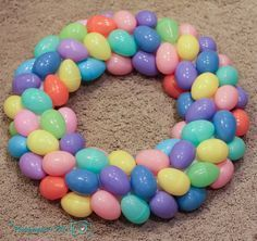 easter egg wreath the wife