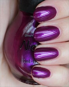 Nicole by OPI Pretty in Plum (from the Selena Gomez Collection due out in January 2013)