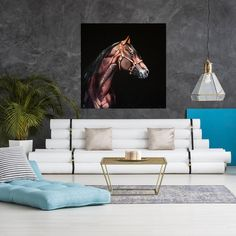 Oil painting portrait brown horseOriginal oil painting | Etsy Oil Painting For Sale, Paintings For Sale, Horse Canvas Painting, Horse Portrait, Brown Horse, Wall Decor, Wall Art, Pet Portraits, Furniture