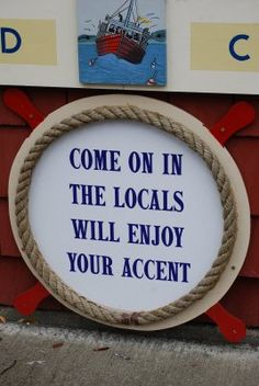 More like, we will NOT enjoy your accent.