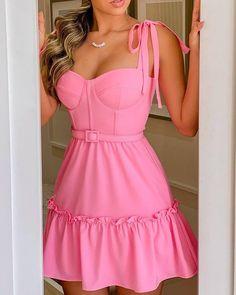 Cute Dresses, Casual Dresses, Short Dresses, Summer Dresses, Vestidos Vintage, Vintage Dresses, Dress Outfits, Fashion Outfits, Womens Fashion