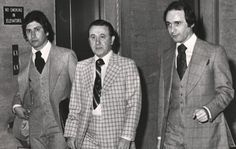 Milwaukee Crime Family Boss Frank Balistrieri (middle) and his two sons John (left) and Joseph (right)  Wisconsin Supreme Court rejects crime boss' son John Balistrieri bid to practice law