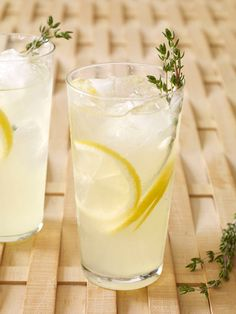 Thyme Lemonade from FoodNetwork.com