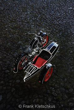 indian. LOVE the sidecar