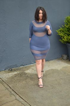 Outfit of the day : Nadia Aboulhosn  showing off her beautiful curves in this bodycon cutout dress