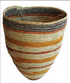 Aboriginal basket weaving.