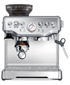 Breville Espresso Machine // in LOVE with this thing!!