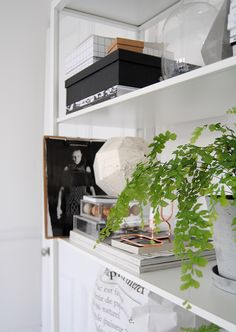 Post Ollie  Sebs Haus #bookshelve #styling #white_room