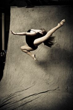 * Photograph of a Dancer Flight *