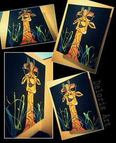 Giraffe Art #myart