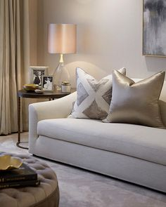 Corner of the formal living room at our Battersea project #luxuryhomes #interiordesign #laurahammett