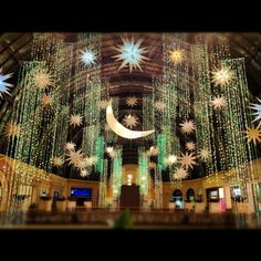 Ramadan decorations at Mall of the Emirates