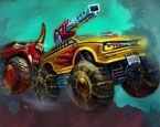 4X4 Araba Yarış Savaşı