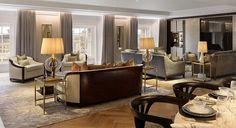 Ten Trinity Square Interiors - The Style Guide From LuxDeco