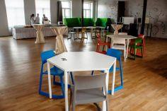 Největší místnost, Open space, lze přizpůsobit pro nejrůznější aktivity. #Unifer #office #kancelar
