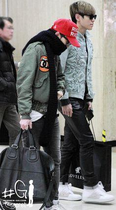 BIGBANG、2012年の空港ファッションを振り返ってみよう。G-Dragon編その1