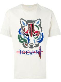 Iceberg 로고 프린트 티셔츠