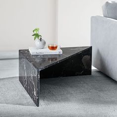 nesting-marble-side-tables-black-nesting-marble-side-tables-black-black-marble-marbl - The world's most private search engine Rustic Side Table, Black Side Table, White Side Tables, Marble Furniture, Cool Furniture, Furniture Design, Black West, Black Marble Coffee Table, Tall Table