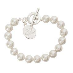 Lauren Ralph Lauren Faux Pearl Bracelet   from Von Maur #VonMaur #StyleCorner #Pearls