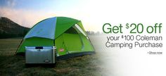 Time to start getting your camping gear ready! - #outdoors #camping #adventure