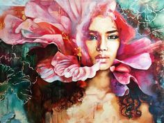 This incredibly talented 16-year-old girl paints the most stunning pictures you'll ever see