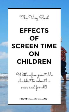 The effects of screen time on brain and eye development have been questioned for a while now. It is so easy to get caught up in this! The real truth is that there are real affects of screen time on our bodies. The other truth is that screen time isn't going anywhere! So what we need to do is learn what these affects are, learn to recognize them in our bodies, and take a break from screens when we feel them. This article is a practical look at how to do this AND how to teach it to our…