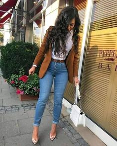 Casual Going Out Outfits, Stylish Work Outfits, Classy Outfits, Pretty Outfits, Cute Outfits, Casual Attire, Fashion 90s, Winter Fashion Outfits, Autumn Outfits