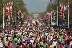 Virgin London Marathon 2012 - i did it in 5 hours 56! Lifetime achievement