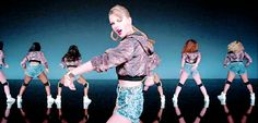 """When she tried to twerk. 