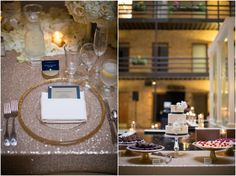 Gold and Navy Minneapolis Wedding- Fountain Room