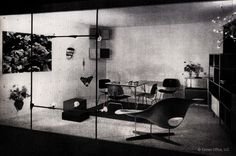 In 1949, Alexander Girard curated An Exhibition for Modern Living at the Detroit Institute of the Arts, a show featuring work by many talented designers, including Charles and Ray Eames.