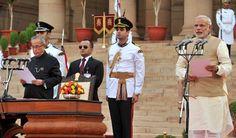Narendra Modi sworn in as Prime Minister