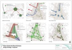 - Urban Design Projects Pdf Town centre regeneration/urban Urban Design Projects Pdf T - Urban Design Concept, Urban Design Diagram, Urban Design Plan, Architecture Concept Diagram, Architecture Graphics, Architecture Panel, Landscape Architecture, Sustainable Architecture, Urbane Analyse