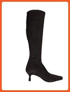 "Stuart Weitzman Womens Shapely Brown Suede Knee High 2.5"" Heel Boot, Size 5 M - Boots for women (*Amazon Partner-Link)"