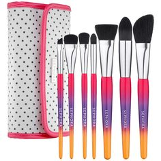 Hamptons Travel Clutch Brush Set by Sephora Collection